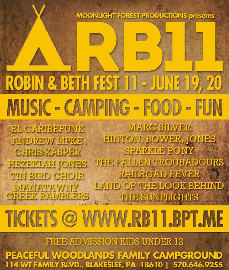 Robin & Beth 11 at Peaceful Woodlands, June 19th & 20th