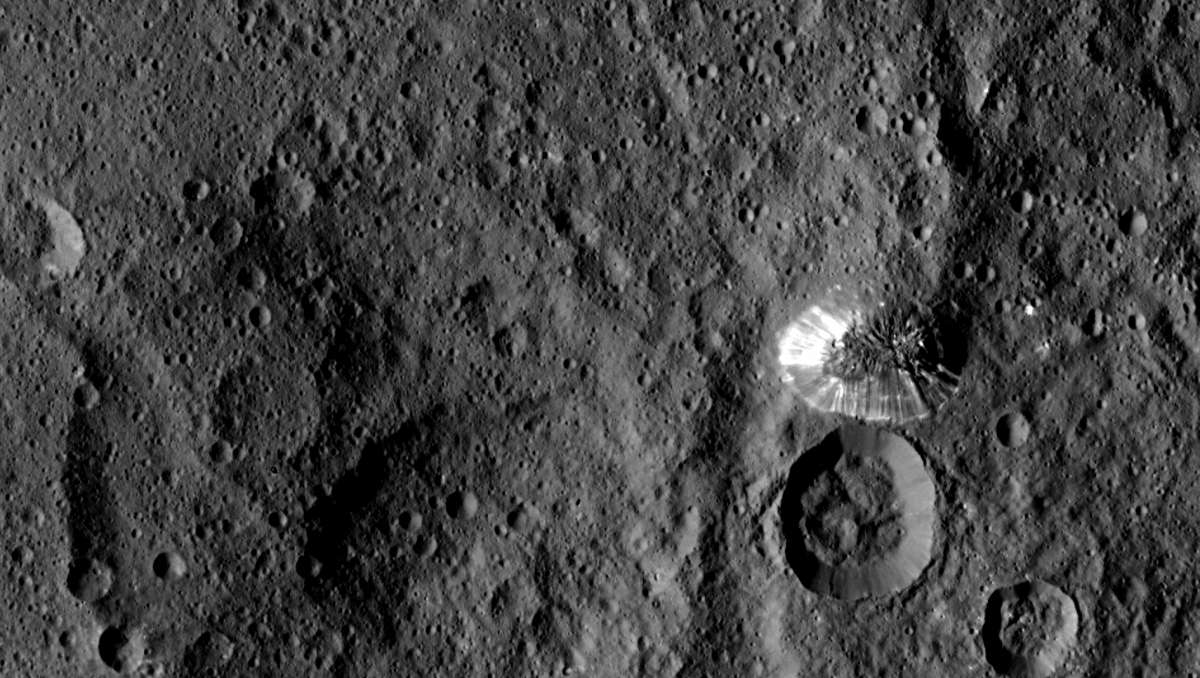Mysterious Pyramid on Ceres