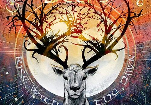"""""""Rise with the Dawn"""" (single) The Deer's Cry single"""