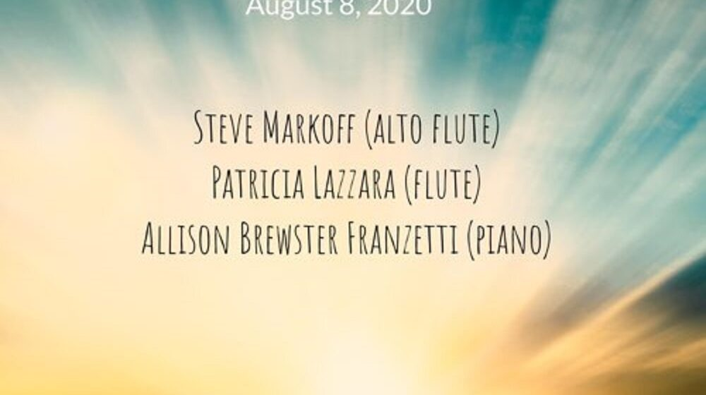 """""""Gabriel's Oboe"""" (Live) by flutist duo of Patricia Lazzara and Steve Markoff"""